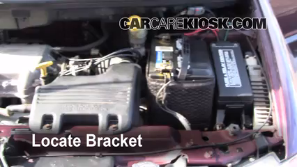 2010 chrysler town and country battery location