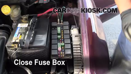 Blown Fuse Check 1996 2000 Dodge Grand Caravan 1998