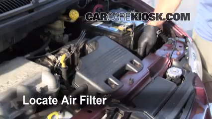 1999 Dodge Caravan 3.0L V6 Air Filter (Engine)
