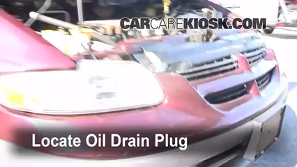 1999 Dodge Caravan 3.0L V6 Oil Change Oil and Oil Filter