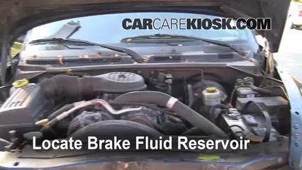 1999 Dodge Durango SLT 5.9L V8 Brake Fluid