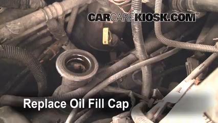 Ford F Xlt L V Extended Cab Pickup Door Foil Fill Cap Part