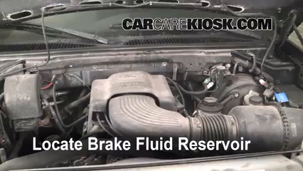 1999 Ford F-150 XLT 4.6L V8 Extended Cab Pickup (4 Door) Brake Fluid