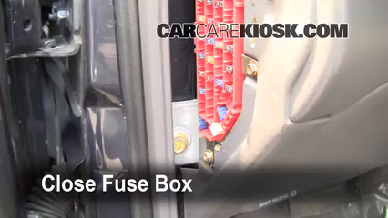interior fuse box location: 1998-2005 ford ranger - 1999 ford ranger xlt  4 0l v6 extended cab pickup (4 door)