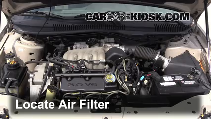 1999 Ford Taurus LX 3.0L V6 Air Filter (Engine) Replace