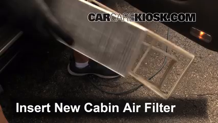 how to change cabin air filter honda accord 2002