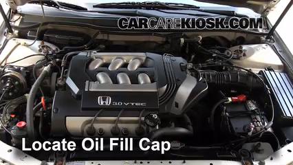 How To Add Oil Honda Accord 1998 2002 1999 Honda Accord Lx 3 0l