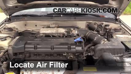 1999 Hyundai Elantra GL 20L 4 Cyl Sedan Door Air Filter