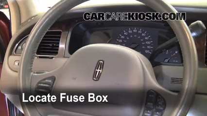 interior fuse box location 1998 2011 lincoln town car 1999 rh carcarekiosk com 1999 lincoln town car fuse box diagram 1999 lincoln town car fuse box diagram