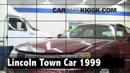 1999 Lincoln Town Car Signature 4.6L V8 Review