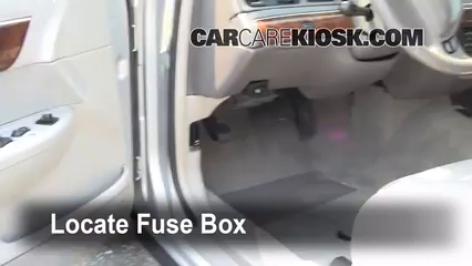 Interior Fuse Box Location 19922011 Ford Crown Victoria 2009 – Interceptor Crown Victoria Fuse Box