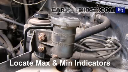 Check Transmission Fluid >> Transmission Fluid Level Check Nissan Almera 1996 2000