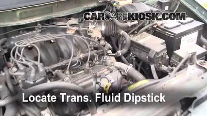 1999 Nissan Quest GXE 33L V6 Transmission Fluid Check Level