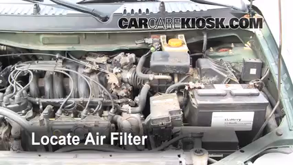 99 nissan pathfinder fuel filter location