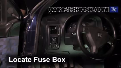 where the fuse box in dodge caravan 2005 image 5