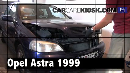 1999 Opel Astra Elegance 1.6L 4 Cyl. Review