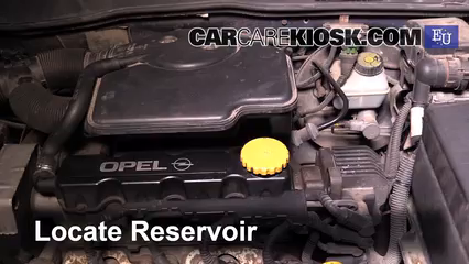 1999 Opel Astra Elegance 1.6L 4 Cyl. Windshield Washer Fluid
