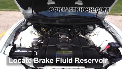 1999 Pontiac Firebird Formula 5.7L V8 Convertible Brake Fluid