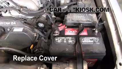 9. Replace Cover Ensure The Cover Is Put Back Properly