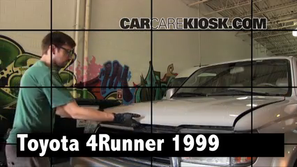 1999 Toyota 4Runner Limited 3.4L V6 Review