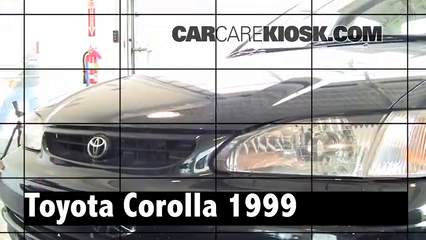 1999 Toyota Corolla CE 1.8L 4 Cyl. Review