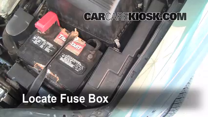 1999 toyota sienna le 3 0l v6 fuse (engine) replace