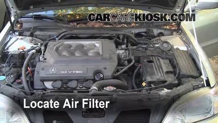 1999 Acura TL 3.2L V6 Filtro de aire (motor)