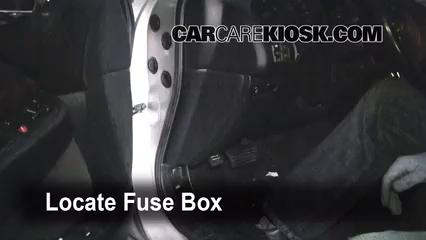 Interior Fuse Box Location: 1995-1998 Acura TL - 1996 Acura TL 2.5L 5 Cyl. | 1998 Acura Tl Fuse Box |  | CarCareKiosk