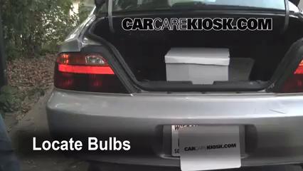 1999 Acura TL 3.2L V6 Éclairage