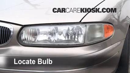 1999 Buick Century Custom 3.1L V6 Éclairage Feux de croisement (remplacer l'ampoule)