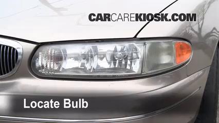 1999 Buick Century Custom 3.1L V6 Éclairage Feu clignotant avant (remplacer l'ampoule)