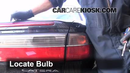 1999 Cadillac Catera 3.0L V6 Lights Tail Light (replace bulb)
