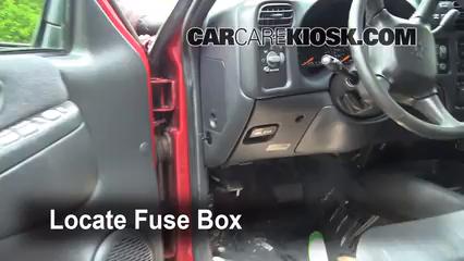 1999 Chevrolet Blazer LS 4.3L V6 (4 Door) Fuse (Interior)