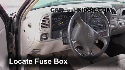 1999 Chevrolet K3500 LS 7.4L V8 Crew Cab Pickup (4 Door) Fuse (Interior)