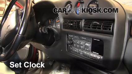 1999 Chevrolet Monte Carlo Z34 3.8L V6 Clock
