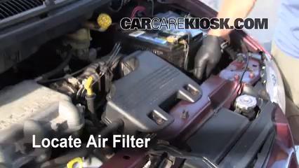 1999 Dodge Caravan 3.0L V6 Filtre à air (moteur)