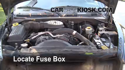 1999 Dodge Durango SLT 5.9L V8 Fusible (moteur)