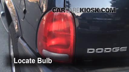 1999 Dodge Durango SLT 5.9L V8 Luces Luz de giro trasera (reemplazar foco)