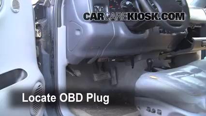 1999 Dodge Durango SLT 5.9L V8 Lumière « Check engine » du moteur