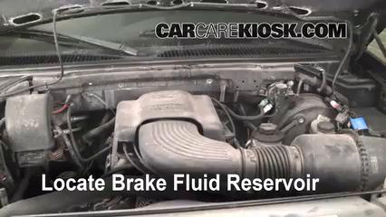 1999 Ford F-150 XLT 4.6L V8 Extended Cab Pickup (4 Door) Liquide de frein
