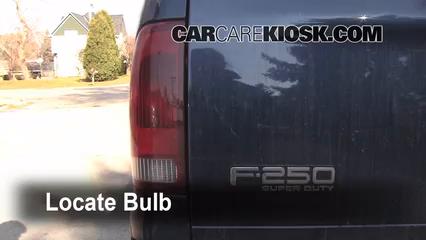 1999 Ford F-150 XLT 4.6L V8 Extended Cab Pickup (4 Door) Luces Luz de reversa (reemplazar foco)
