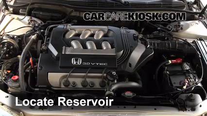 1999 Honda Accord LX 3.0L V6 Sedan (4 Door) Liquide essuie-glace