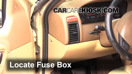 1999 Jeep Grand Cherokee Limited 4.0L 6 Cyl. Fuse (Interior) Replace