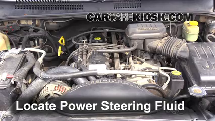 2000 Jeep Cherokee Sport 4.0L 6 Cyl. (4 Door) Power Steering Fluid