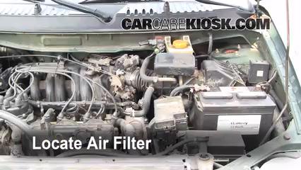 1999 Nissan Quest GXE 3.3L V6 Air Filter (Engine)