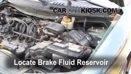 1999 Nissan Quest GXE 3.3L V6 Brake Fluid