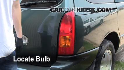1999 Nissan Quest GXE 3.3L V6 Lights