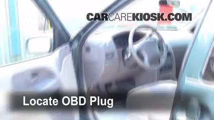 1999 Nissan Quest GXE 3.3L V6 Check Engine Light