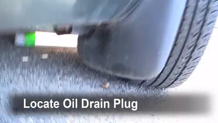 1999 Nissan Quest GXE 3.3L V6 Aceite Cambiar aceite y filtro de aceite