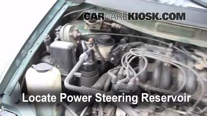 1999 Nissan Quest GXE 3.3L V6 Power Steering Fluid